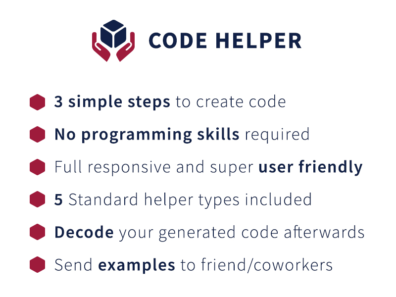 Code Helper screenshot 1