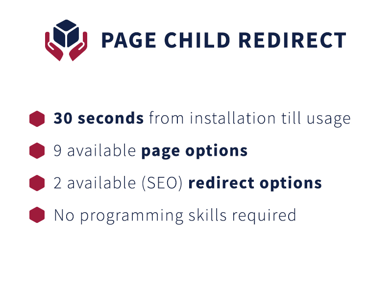 Page Child Redirect screenshot 1