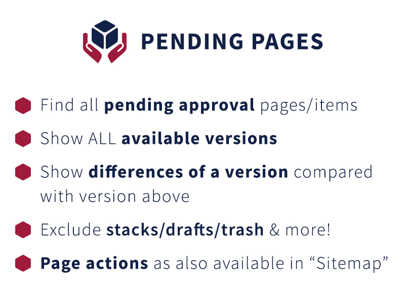 Pending Pages screenshot 1